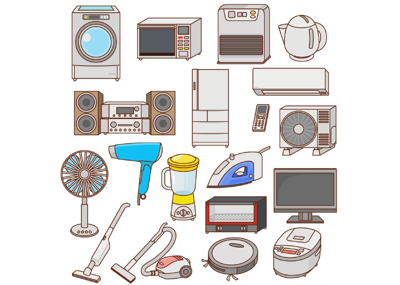 家電・電化製品の買取を少しでも高くさせるポイントの画像